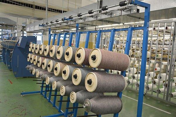Technische Zwirne - Seilerei Fischer Zwirnmaschine Produktion